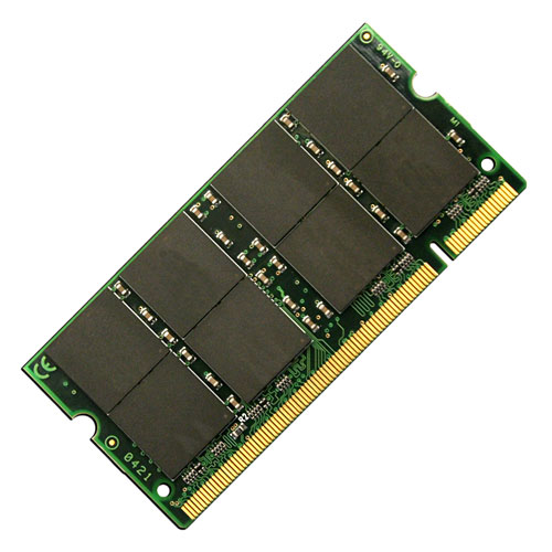 ACP-EP MEMORY 1GB PC2700 DDR 333MHZ 200-PIN PC & MAC Notebook memory SODIMM