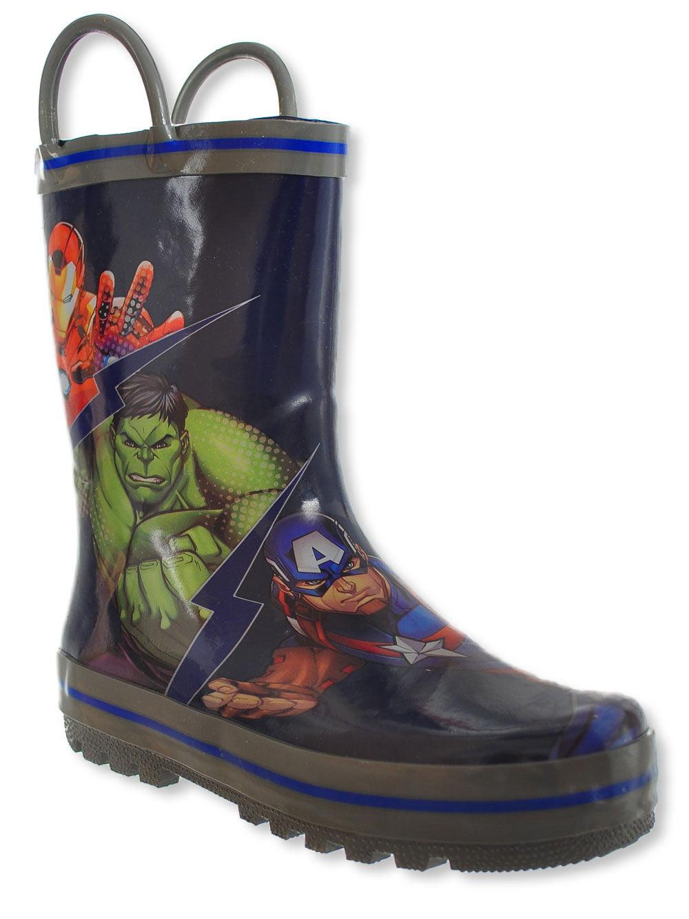 Marvel Avengers Boys' Rain Boots (Sizes