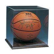 Caseworks International CAS-BB-403 Basketball Display Case - Wood Finish - No Logo
