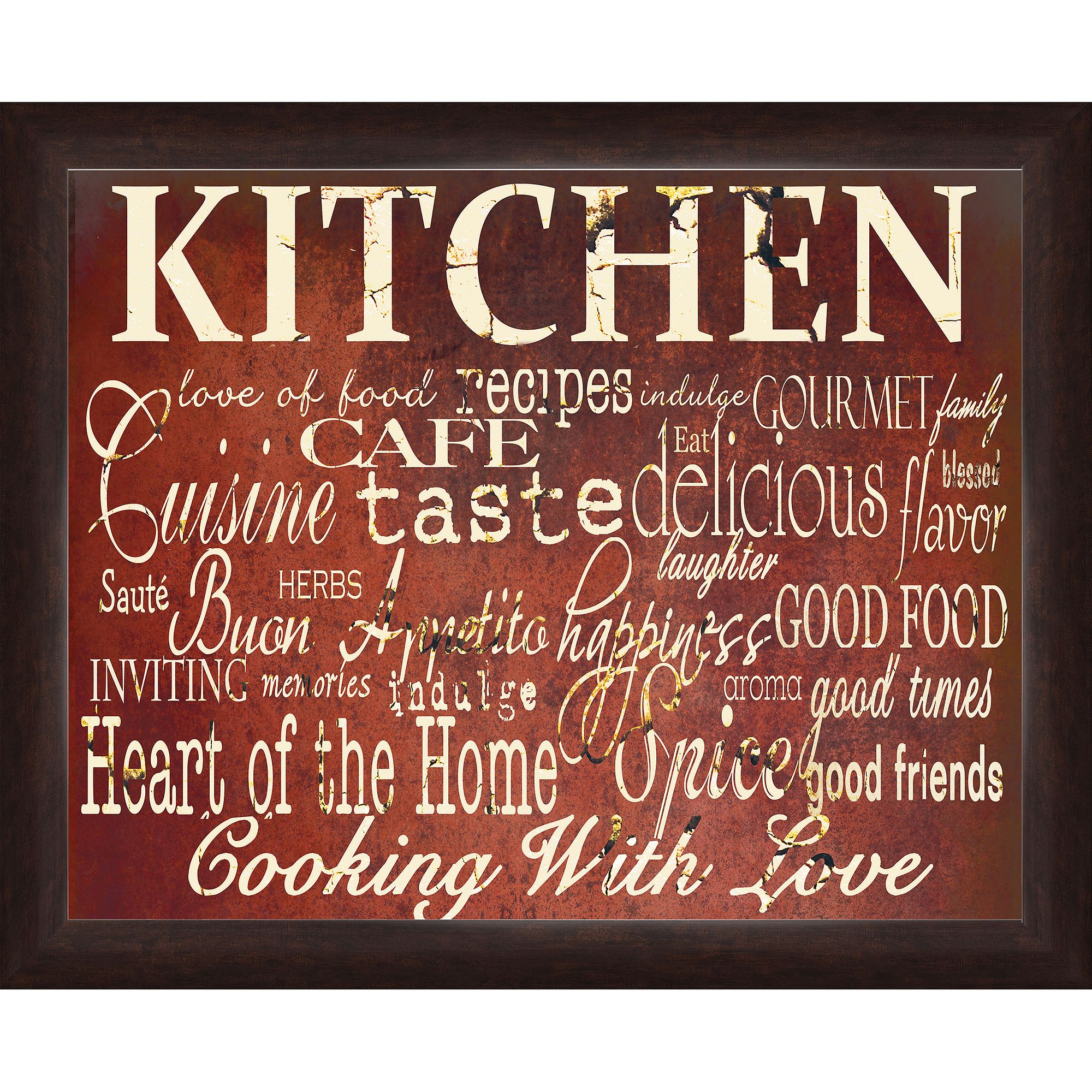 Kitchen Wall Artwork by Pro Tour Memorabilia