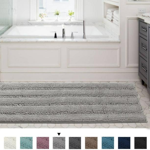 Machine Washable Bath Mats, Bathroom Floor Rugs