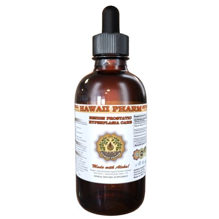 Benign Prostatic Hyperplasia Care Tincture, Saw Palmetto (Serenoa Repens) Dried Berry, Pygeum (Pygeum Africanum) Dried Bark Liquid Extract, Herbal Supplement 2 oz