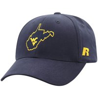 Men's Russell Athletic Navy West Virginia Mountaineers Endless Adjustable Hat - OSFA