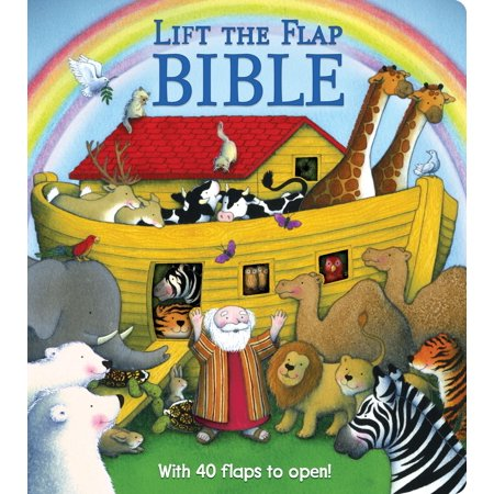 Lift the Flap Bible (Board - Personalized Baby Bible