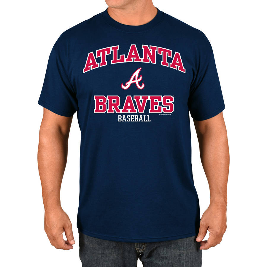 MLB Atlanta Braves Big Men's Basic Tee