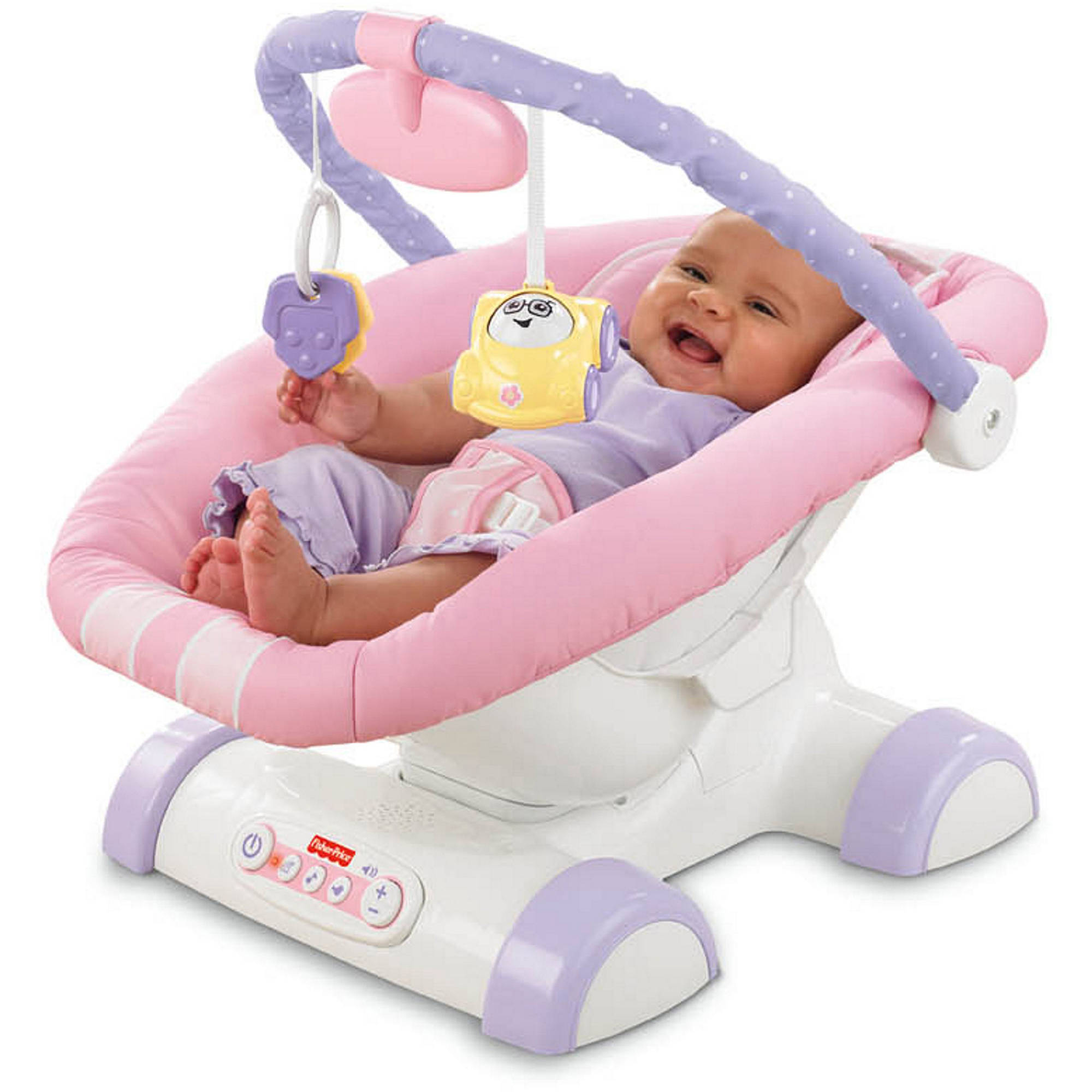 Fisher-Price - Cruisin' Motion Soother, Pink