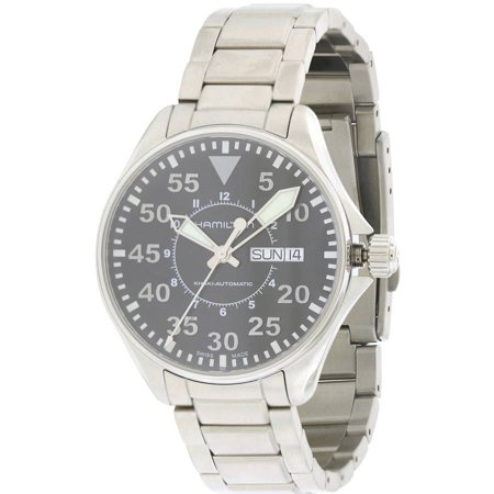 Hamilton Aviation Pilot Automatic Stainless Steel Mens Watch H64425135