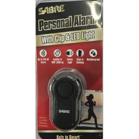 Sabre Clip Alarm-black