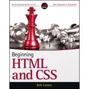 Beginning HTML and CSS - eBook