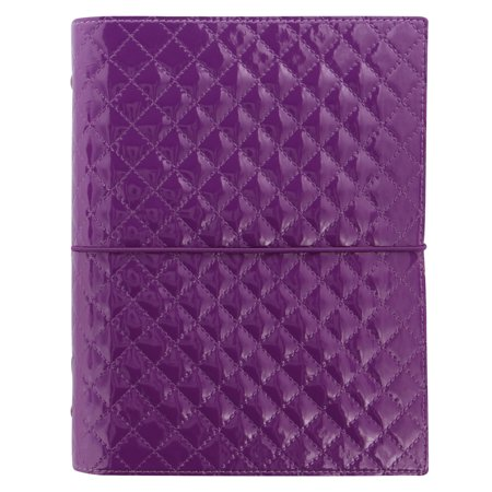 Filofax Domino Luxe Organizer - Purple - - Purple Domino