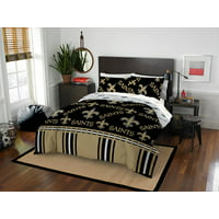 NFL New Orleans Saints Bed In Bag Set