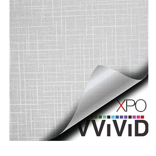 "VViViD Privacy Window Glass Film 36/"" x 10ft Linen Cloth Home Decor DIY Removable"