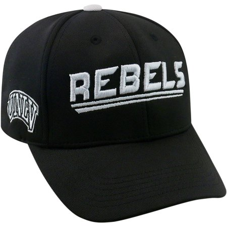 University Of Unlv Running Rebels Black Baseball Cap (Black Label Running Rebels)