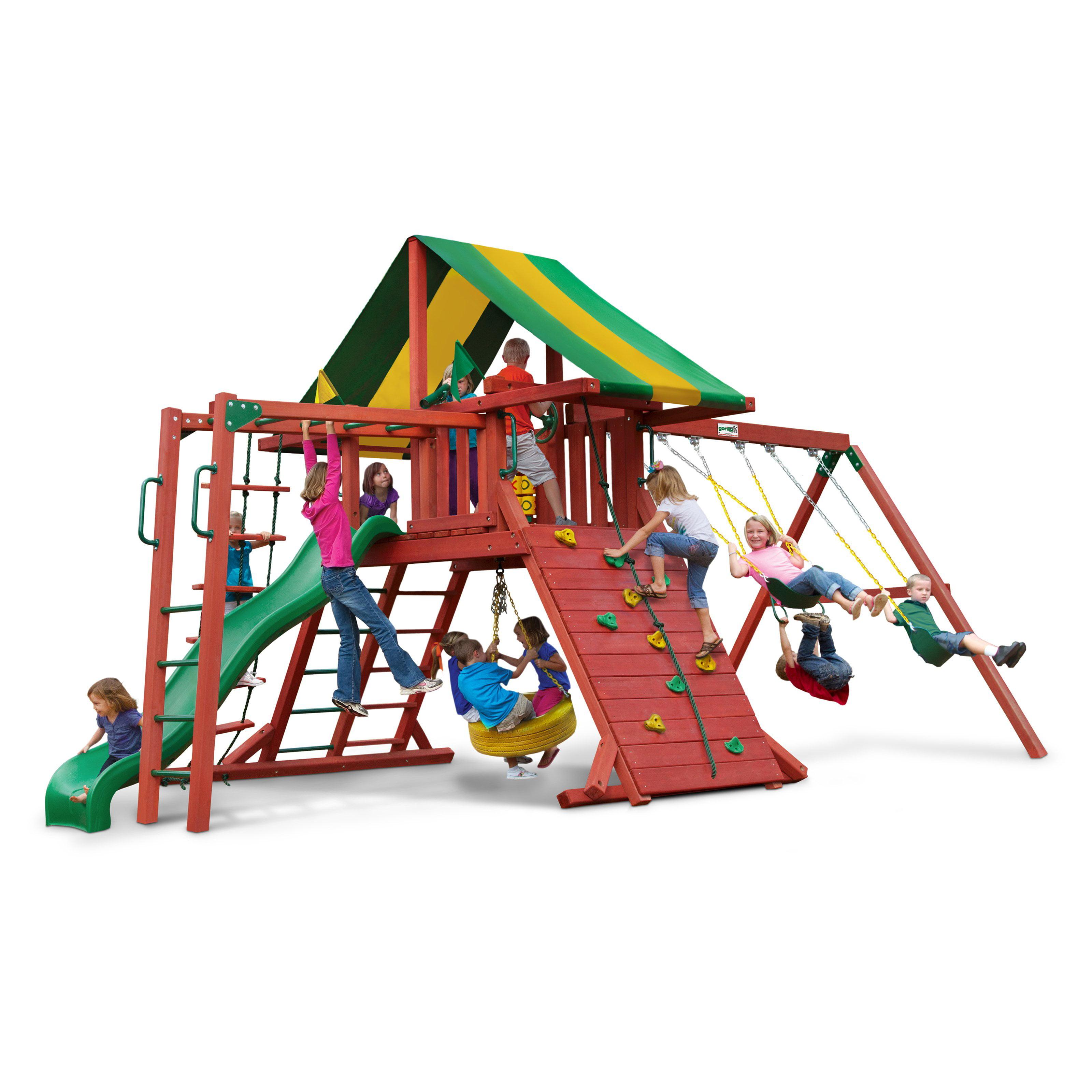 Gorilla Playsets Sun Valley II Cedar Swng Set by Overstock