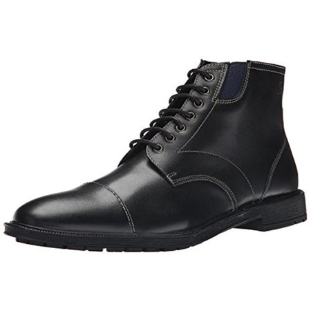 eb38a1876f7 Stacy Adams Mens Dowling Leather Lace-Up Ankle Boots