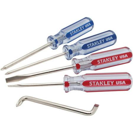 stanley 5 piece acetate screwdriver set stht64029. Black Bedroom Furniture Sets. Home Design Ideas