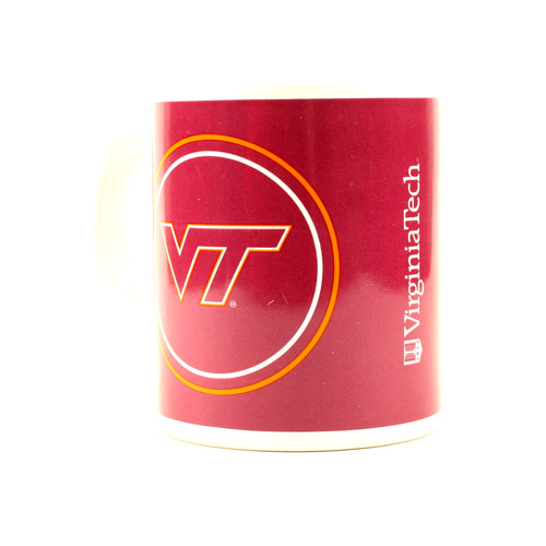 Virginia Tech Hokies 11 Oz Ceramic Full Wrap Mug