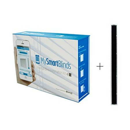 MySmartBlinds Automation Kit + Solar Panel Charger | Turn ordinary blinds into energy efficient solar powered blinds.