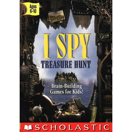 I SPY Treasure Hunt with I SPY Book and Mini-CD