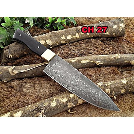 Damascus Steel kitchen Knife 10 Inches full tang 5.5