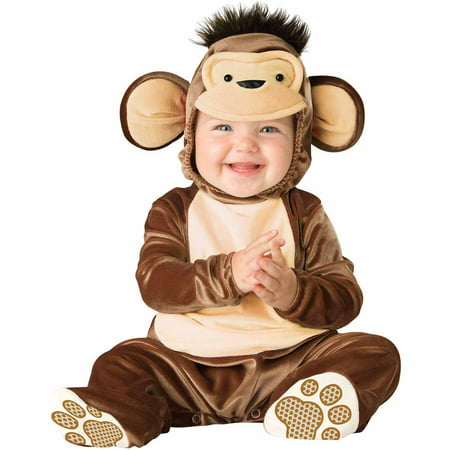 Mischievous Monkey Infant Halloween - Baby Halloween Costumes 3-6 Months