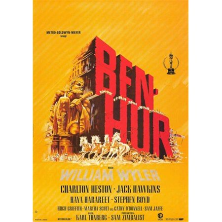 Posterazzi MOV228407 Ben Hur Movie Poster - 11 x 17 in. - image 1 de 1