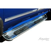 "Raptor Series 07-15 Toyota Tundra Crew Max 7"" Running Board, Stainless Steel"