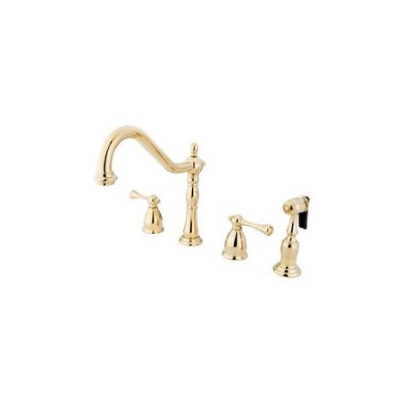 elements of design eb1792blbs new orleans 8 widespread kitchen faucet