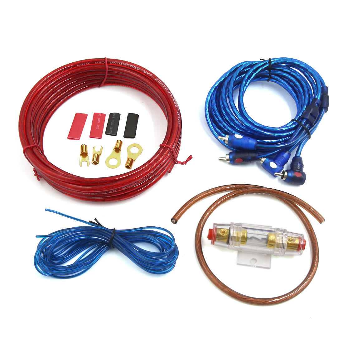4.3M Audio Power Cable Amplifier Wiring Kits for Universal Car