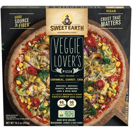 Sweet Earth Vegan Veggie Lovers Frozen Pizza - 15.3oz