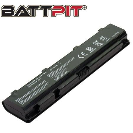 BattPit: Laptop Battery Replacement for Toshiba Qosmio X870-13U, PA5036U-1BRS, PABAS264, Qosmio X70, Qosmio X875 (14.4V 4400mAh 63Wh)