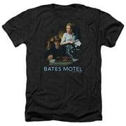 Bates Motel Die Alone Mens Heather Shirt