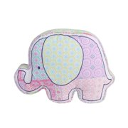 Cozy Line Harper Elephant Shaped Decorative Pillow