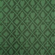 Trademark Poker Stalwart Table Cloth Suited Emerald, Waterproof, 3yds