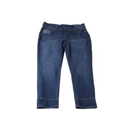 f9ef096f8f2 MelissaMcCarthy - Melissa Mccarthy Seven7 Plus Size Blue Wash ...