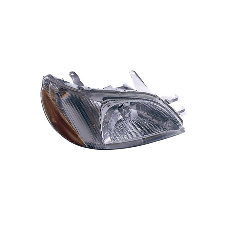 Replacement Tyc 20 5825 00 1 Passenger Side Headlight For 00 02 Toyota Echo