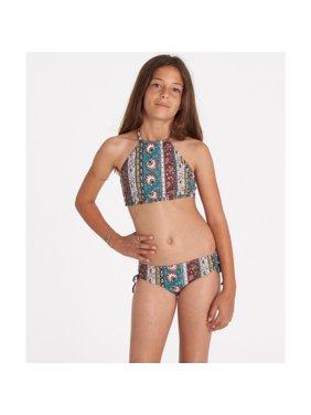 46fdd9b6cb3c4b Product Image Billabong Girls  Girls  Hippy Ditsy High Neck Swim Set ...