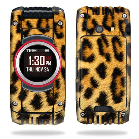 Mightyskins Protective Vinyl Skin Decal Cover For Casio Gzone Ravine 2 C781 B Gzone Verizon Android Cell Phone Sticker Skin   Cheetah