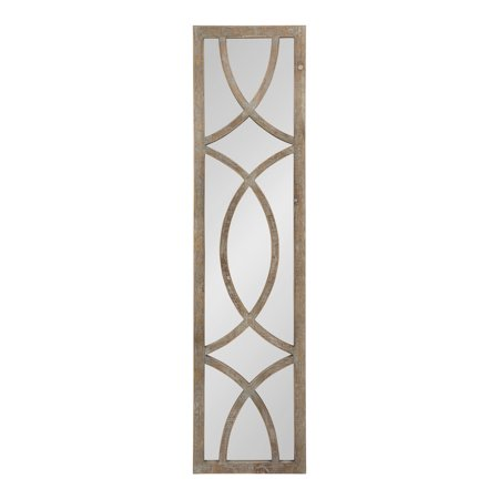 Tolland Extra Long Decorative Wooden Panel Wall Mirror ()