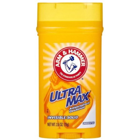 Arm & Hammer ULTRAMAX Deodorant Invisible Solid Unscented 2.80 oz Each