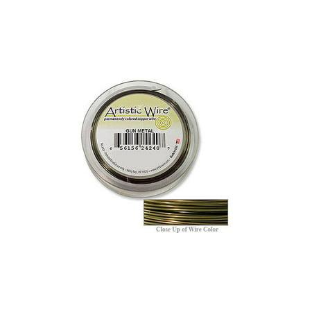 Artistic Wire Jewelry Wire Spools 22 Gauge (15 Yards) Antique Brass