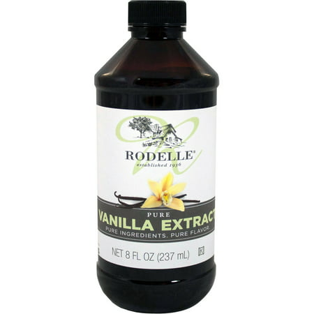 Bottle Vanilla Extract - Rodelle Pure Vanilla Extract, 8 oz Bottle