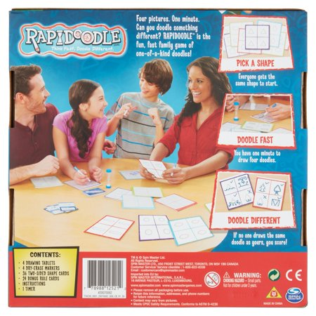 Best Spin Master Games Rapidoodle Board Game deal