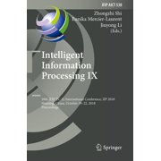 Intelligent Information Processing IX - eBook