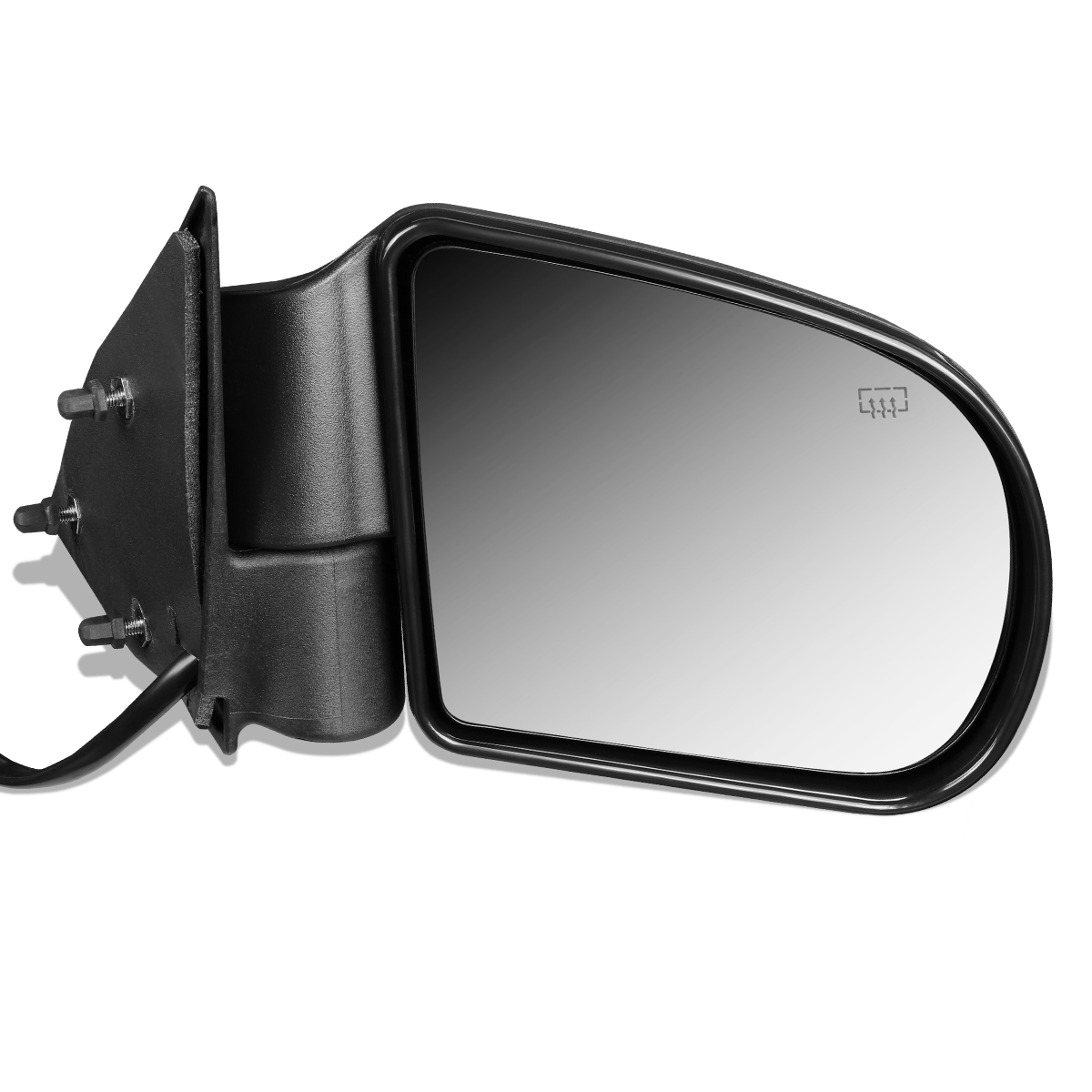 Chevy S10 Pickup Truck Power Heated Black Rear View Mirror Right Passenger Side