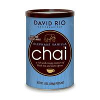 David Rio Elephant Vanilla Chai, Powdered Tea, 14 Oz