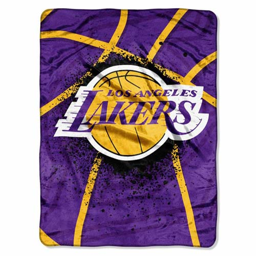 Los Angeles Lakers Oversize Plush Blanket