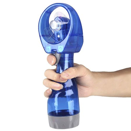 Portable Battery-operated Handheld Water Misting Fan (Color May - Battery Operated Hand Held Fans