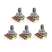 WH148  20K Ohm Variable Resistors Single Coil Carbon Potentiometer 5pcs