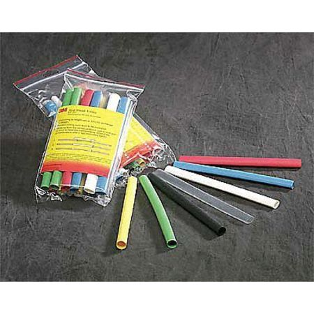 3M EPS-400-.700-48-Black Shrink Tubing, 0.700 In ID, Bl, 4 ft, PK 45 by 3M